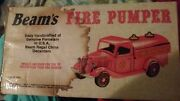 1930 Ford Model A Fire Engine Jim Beam Regal China Decanter Bottle Boxed