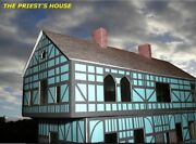 Old Tudor Timber-framed Houses - Three Types - Card Kit - Ho/oo And N Gauge.