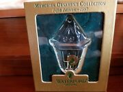 1997 Waterford Crystal Ornament - Memories Collection - 5th Ed - Lantern