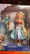 Disney Frozen Elsa Toddler Doll With Musical Snow Wand Rare Brand New