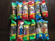 Star Wars Pez Complete Set Hard To Find Still In Packaging -all 12 Pez