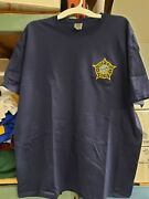 Chicago Police Embroidered Star T-shirt All Sizes
