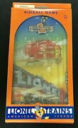 Vintage Brand New Lionel Trains American Legend Pinball Game Fun Toy Collectible