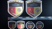 Mariah Boat Emblem 41x47 Gold + Free Fast Delivery Dhl Express