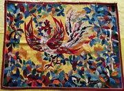 Antique English Handmade Wall Hanging Almost 100 Years Old