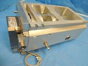 Pfeiffer Tmh 521 Turbo Vacuum Pump And Tc600 Drive Controller And Cartridge Housing