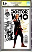 Dr. Who The Twelfth Doctor 1 Cgc Ss Photo Cover Quote Comment Remark Rare