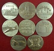 Macau 5 Sections Of Histotry 9999 Silver With Golden Bath