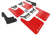 Rally Armor Mud Flaps Guards W/liner Cover For 12-19 4runner Red W/white Logo
