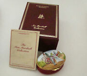 Staffordshire Enamel Box - Happiness On Your Wedding Day