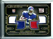 2014 Topps Museum Quad 3/color Relic Odell Beckham Jr.rookie D 04/25 Giants