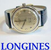 Solid Gold 14k Longines Grand Prize Automatic Watch 1960s Cal.340 Exlnt Serviced