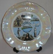 Movieland Wax Museum And Palace Of Living Art Buena Park, Ca Collector's Plate