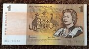 Australia Banknote. One Dollar. Queens Image. Dated 1983. P42d. Unc.