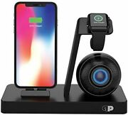 Watch Iphone Stand Charger Usb Mini Dock Music Travel Power Speaker Device Beats