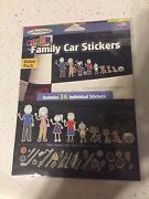 Family Car Decals - Brand New - Never Used