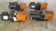 Lot Of 4 Alcatel Vacuum Pump /franklin Electric 1/2 And 3/4 Hp Motor As Is