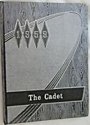 1959 The Cadet Iowa Falls High School Yearbook Annual Embossed Cover
