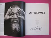 Ai Weiwei.signed.taschen.2016.like New Condition.gift Quality.rare.