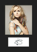 Bridgit Mendler 2 A5 Signed Mounted Photo Print Reprint - Free Delivery