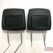 Range Rover Headrests With Rosen Un7200 7and039 Monitors