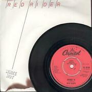 Red Rider White Hot 7 Inch Vinyl Uk Capitol 1980 Demo B/w Avenue A Pic Sleeve