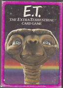 E.t. The Extra-terrestrial Card Game By Parker Brothers 2-4 Players1982