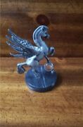 Pegasus Statue_crystal_marble Baseplymouth Pewter By Mannwinged Horse Figurine