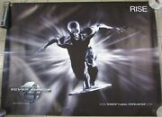 Rise Of The Silver Surfer 48 X 36 Vinyl Movie Poster Fantastic 4 2007