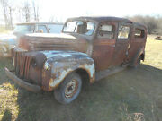 Rare 1942 Ford Ambulance Wwii Panel Delivery Truck Hauler Hot Rod Rat Siebert
