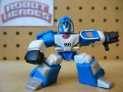Transformers Robot Heroes Mirage G1 Original Release Solid Colors From Wave 1