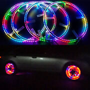 Led Wheel Lights Moving Flashing Rgb Color Kit Wireless Fits Ford Mustang