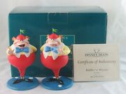 Wdcc Riddles And039nand039 Rhymes Puzzles And039nand039 Poems Tweedle Dee And Tweedle Dum Box Coa