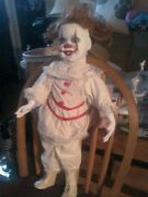 Pennywise 2017 It Porcelain Doll 2and039 Ooak Halloween Prop Zombie Prop Clown Prop