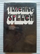 Rare Book...teaching Speech By Loren Dudley Reid 1971 4th Edition Hardcover