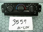 00 01 02 03 04 05 Chevrolet Blazer Ac And Heater Control Used Stock 3559-ac