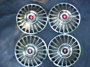Ford Mustang Wheel Capand039s 1967 Part No C722-1130-b X 5not Minteasy Restore