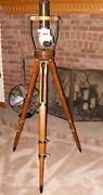 Vintage Tripod With T42 Periscope Optics - Steampunk - Man Cave Free Shipping