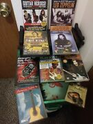Led Zeppelin Hendrix Queen And 5 Other Guitar Lesson Dvds, Christmas, Kids@home