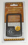Whitman Pocket Magnifier With Led Light By Whitman Publishing