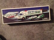 1997 Hess Truck Toy Truck And Racer