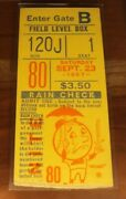1967 Mets Ticket Tom Seaver Win 16 Of 16-13 Nl Rookie Of Yr Sea. The Franchise