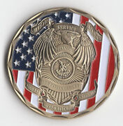 The Archangel St. Michael Police Officer Coin 1.5 Dia Bx1