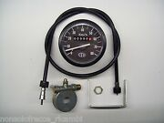 Set Cev Odometer + Rope + Drive For Mopeds Years 70/80/90 Scale 80 Km/h