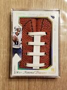 Marcus Mariota 2015 National Treasures Leather And Lace Rookie Rc 2/4 Ssp