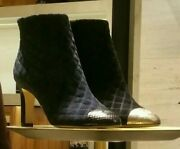 Velvet Booties, Sold Out In Stores