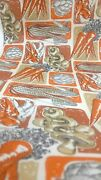 Nos Vintage Contact Papper Mushroom 70and039s Mid Century Mod Contact Shelf Paper