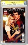 Amazing Spider-man The Movie 1 Cgc Ss 9.8 Stan Lee Variant Photo Cover Gold