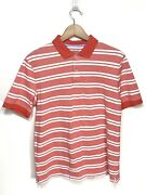 Menand039s Landsand039 End Salmon Polo Shirt Traditional Fit Polo 100 Cotton A65