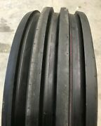 Tire And Tube 11.00 16 Harvest King 4 Rib F-2m Tractor Front 8 Ply Tl 1100-16